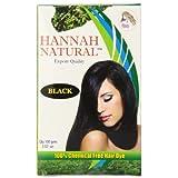 Hannah Natural 100% Chemical Free Hair Dye, Black, 100 Gram
