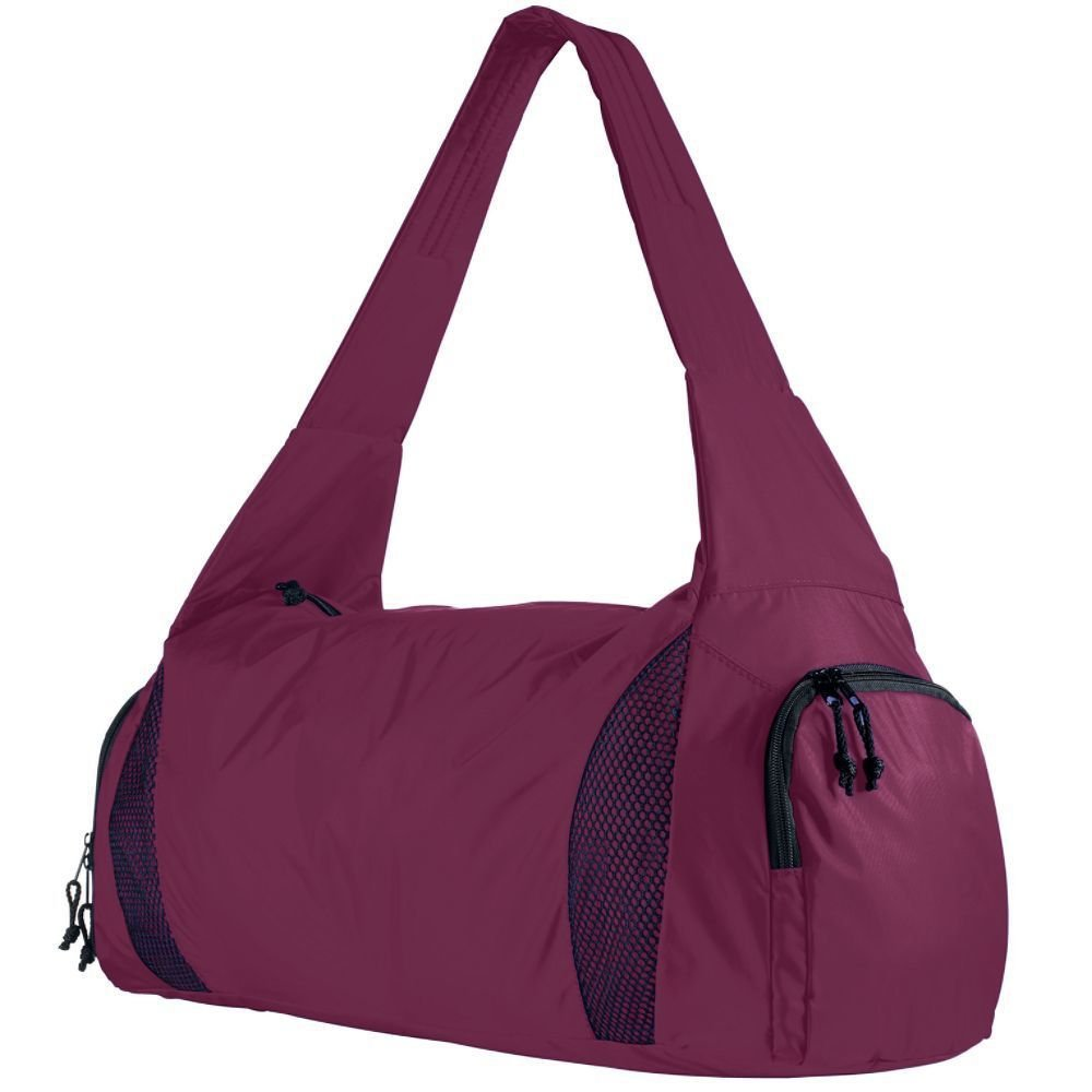 Augusta Activewear Competition Bag With Shoe Pocket, Maroon, One Size