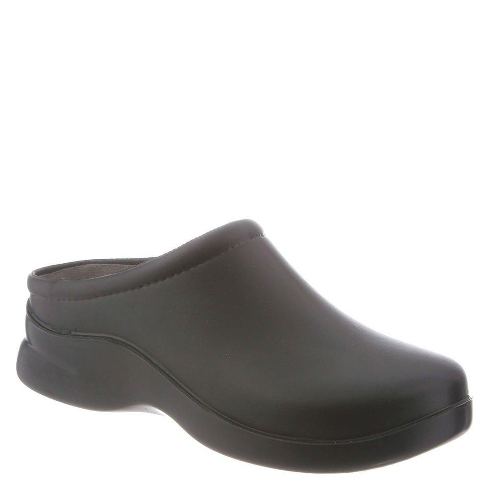 Klogs Men's Edge Comfort Slip On Casual Clog (11 B(M) US, Black)