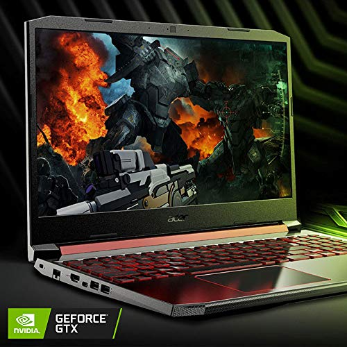 Acer Nitro 5 Gaming Laptop, 9th Gen Intel Core i5-9300H, NVIDIA GeForce GTX 1650, 15.6″ Full HD IPS Display, 8GB DDR4, 256GB NVMe SSD, Wi-Fi 6, Backlit Keyboard, Alexa Built-in, AN515-54-5812