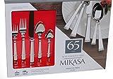 Mikasa 18/10 Stainless Steel, 65 piece silverware set (Rope)