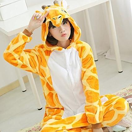 MH-RITA Cartoon Azul Unicorn Pijama pijama de franela establece para las mujeres Animalitos pijama