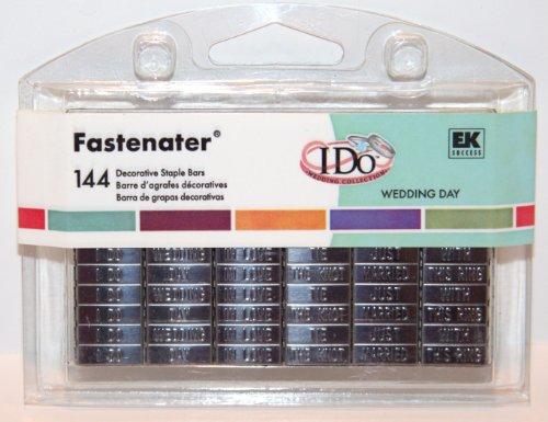EK Success WEDDING DAY Fastenater 144 Decorative Staple -