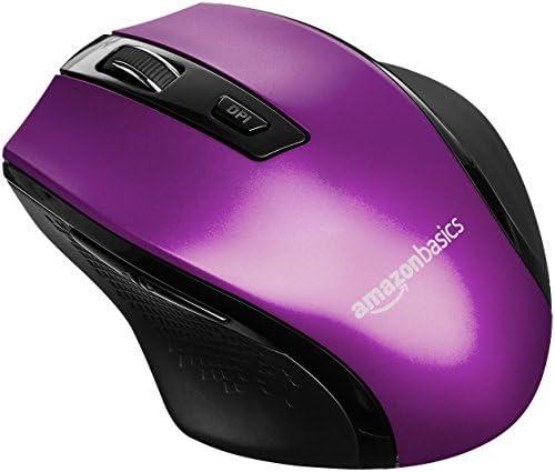 AmazonBasics Ergonomic Wireless Mouse adjustable product image
