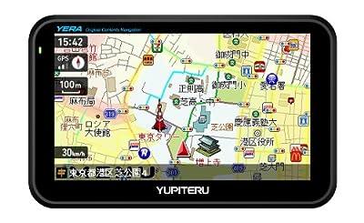 ユピテル オリジナルコンテンツ搭載ポータブルナビゲーション YPL502si
