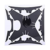 Carbon Fiber Sticker, 3 Colors Wrap Decal Skin RC Accessory For DJI Phanton 4 Drone & Controller(Gray)