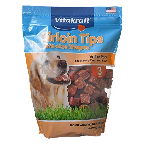 2 Pack Sirloin Tips Dog Treats 28oz (jar) (Catalog Category: Dog / Dog Treats) ()