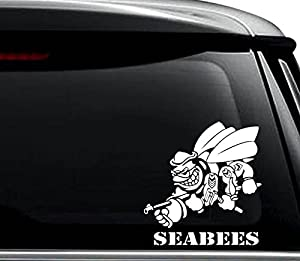 US Navy Seabees Vinyl Decal Sticker For Car Truck Motorcycle Window Bumper Wall Laptop by N&N Stickers