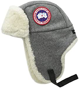 Canada Goose Merino Wool Shearling Pilot Hat, Oxford, Large/X-Large