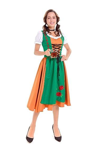FairOnly - Disfraz de Pareja de Cerveza, Traje Tradicional bávaro ...