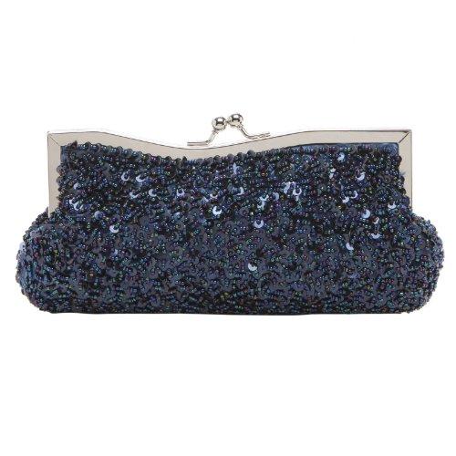 Pochettes Bleu Bleu marine femme Collection MG UfFqwa5