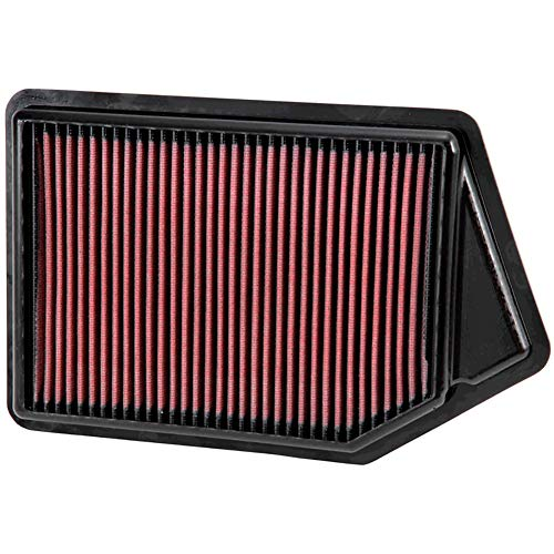 K&N engine air filter, washable and reusable:  2013-2020 Honda/Acura V6 (Accord, TLX) 33-2499