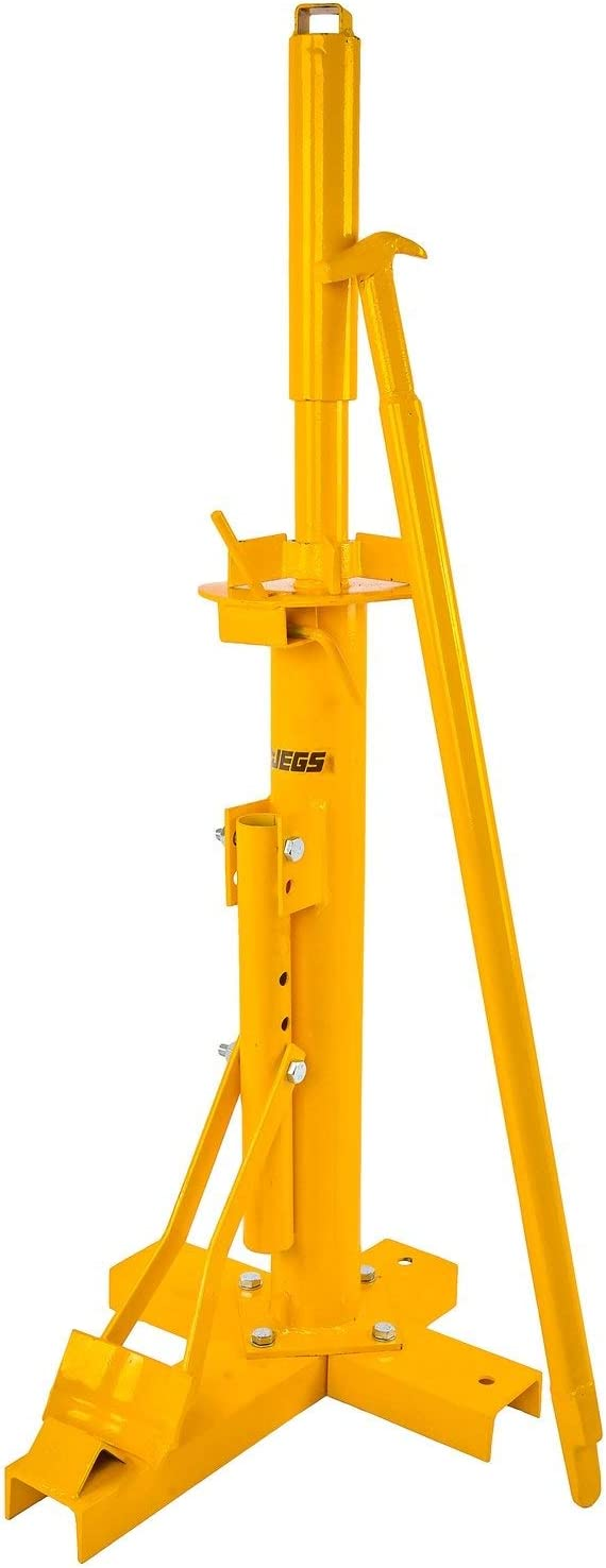 JEGS 80395 Manual Tire Changer Handles all Tires from 8 in to 16 in Predrilled