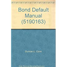 Bond Default Manual