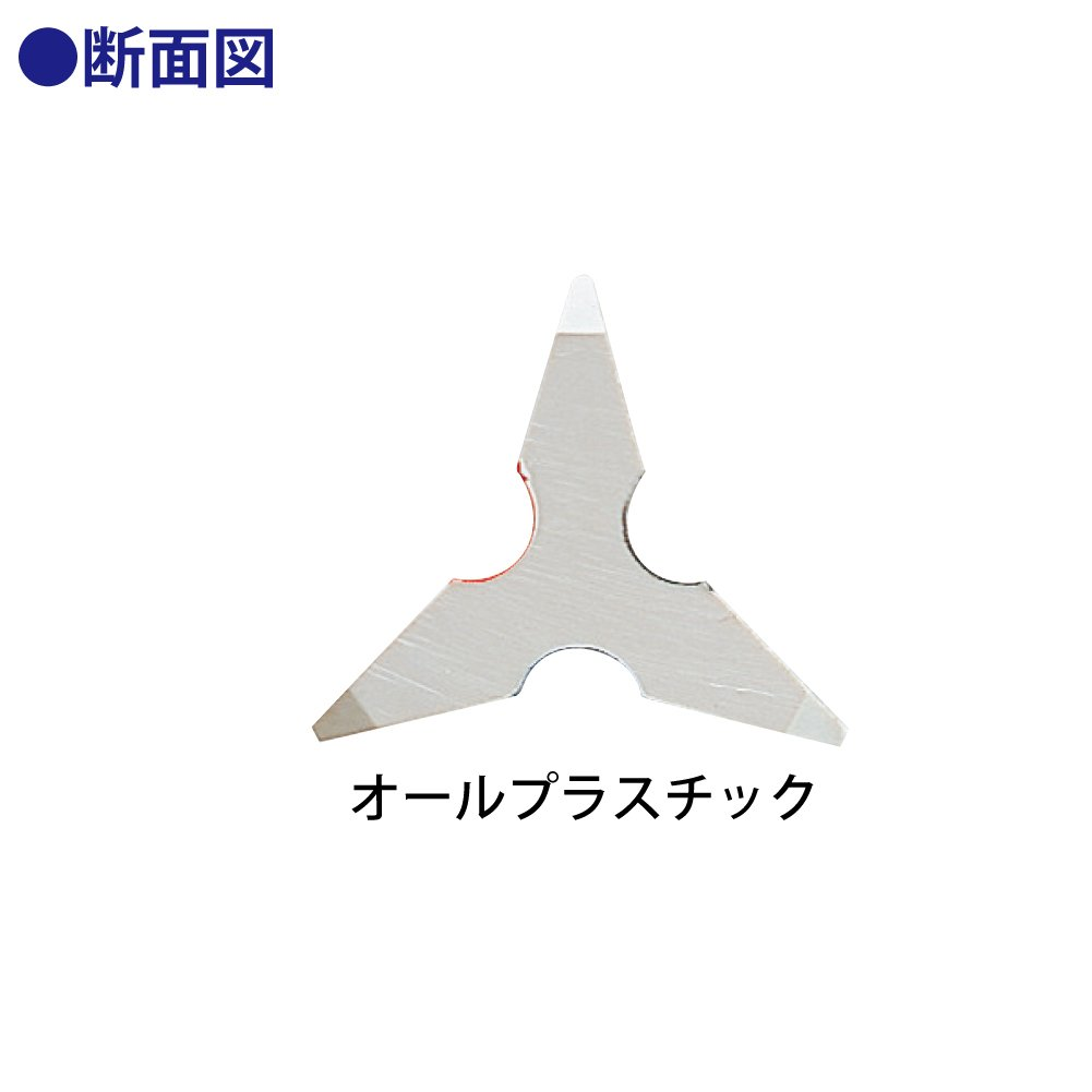 TZ-1561 triangular scale plastic core 15cm (japan import) by Kokuyo Co., Ltd. (Image #3)