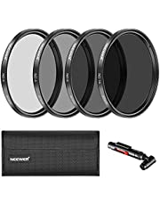 Neewer 67MM Neutral Density Filter and Accessory Kit for Canon EOS Rebel T5i T4i T3i T3 T2i T1i DSLR Camera with a 18-135MM Zoom Lens, Lens Pen, Filter Pouch, Microfiber Cleaning Cloth Included
