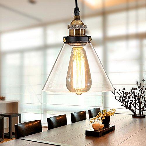 Glass Funnel Pendant Light in Florida - 8