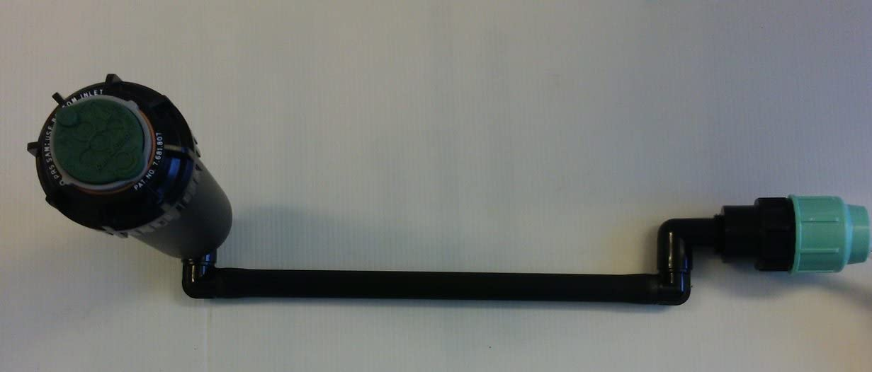 Bogen: 25 mm inkl Swing Joint,Anschluss f/ür 25 32mm PE-Rohr Rain Bird 5004-PC-PL-SS Edelstahl Regner-Set