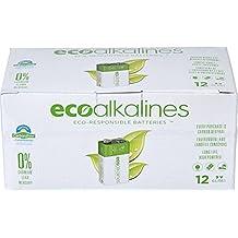 EcoAlkalines 9-volt Bulk, 12-pack