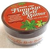 Trader Joes Pumpkin Body Butter - Luxurious Body Butter Made with Coconut Oil, Shea Butter & Pumpkin Seed Oil - 8oz., 227g.