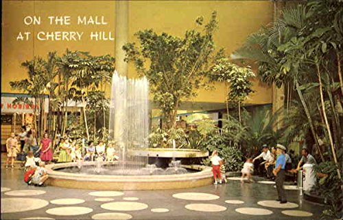 On The Mall At Cherry Hill Cherry Hill, New Jersey Original Vintage - New Jersey Mall Cherry Hill