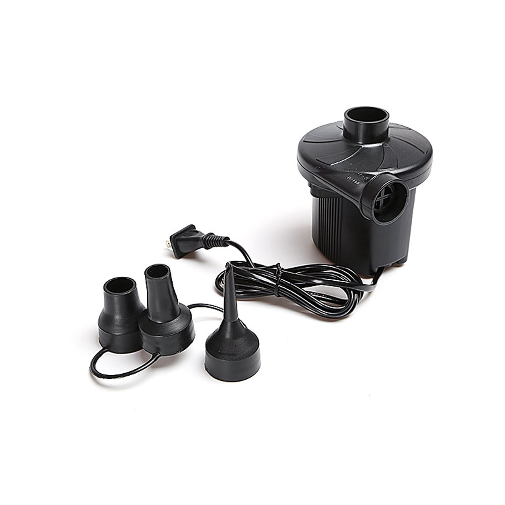 Boli Portable Electric Air Pump - 120 Volt Ac Quick-fill Design with Three Nozzles- Inflation or Compression,BL6001-EPUMP