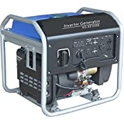 SILENT CHOICE 3500W Open Frame 4-Stroke Emergency Gasoline Protable Inverter Generator