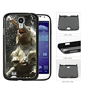 Cute Baby Elephant Water Shower Hard Plastic Snap On Cell Phone Case Samsung Galaxy S4 SIV I9500