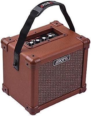 muslady amplificador para guitarra acústica 10 W portátil altavoz ...