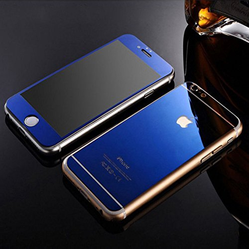 size 40 bace7 b3c87 A&J(TM) Anti-scratch Front + Back Mirror Effect Tempered Glass Screen  Protector Cover(This is not Phone CASE Cover ,Front Screen Protector and  back ...
