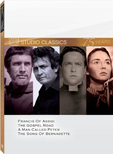 Classic Quad - Classic Quad Set  (Francis of Assisi / The Gospel Road / A Man Called Peter / The Song of Bernadette)