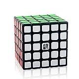 D-FantiX Yj MoYu YuChuang 5x5 Speed Cube 5x5x5 Puzzle Cube Black 63.5mm