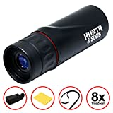 Compact Tactical Monocular Spy Scope - Best For Hunting, Sightseeing, Golf, Surveillance, Shooting - Waterproof and Fogproof - High Definition - Lightweight - Zoom Magnification - Great Gift For Dad