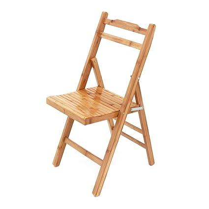 Admirable Amazon Com Folding Small Chair Home Balcony Leisure Stool Ibusinesslaw Wood Chair Design Ideas Ibusinesslaworg