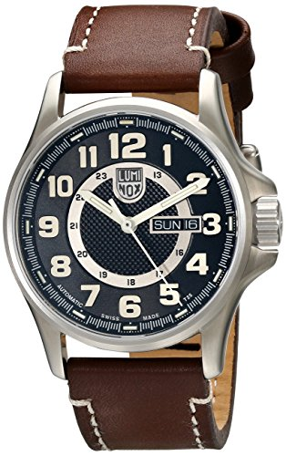 Luminox Men's 1801 Stainless-Steel Analog Bezel Watch