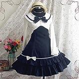 daa96b994 ゴスロリィタ Lolita ロリータ服 衣装 洋服 COSMAMA LLTLZY0011 ブルーとホワイト 長袖 ゴシック ゴスロリ プリンセス お嬢様