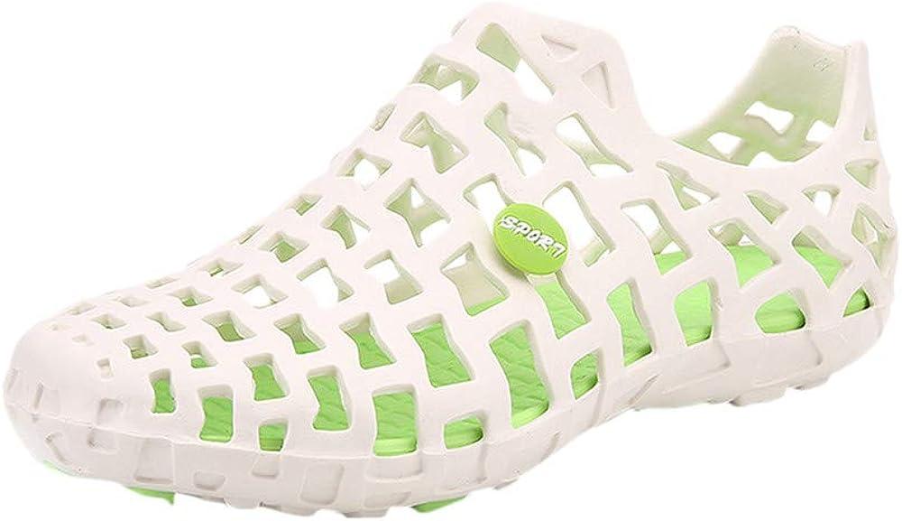Men Women Unisex Slip-On Clogs Lightweight Quick-Dry Garden Shoes Indoor Hole Sandals BaojunHT/®