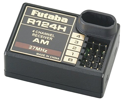 - Futaba R124H 4-Ch AM Rx 27MHz Receiver without Crystal [parallel import goods]