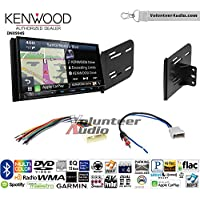Volunteer Audio Kenwood Excelon DNX994S Double Din Radio Install Kit with GPS Navigation Apple CarPlay Android Auto Fits 2007-2011 Nissan Versa