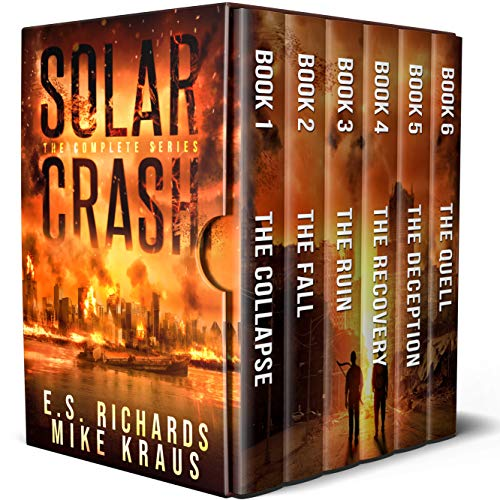 Solar Crash Box Set: The Complete Solar Crash Series - Books 1-6 (Sets Solar)