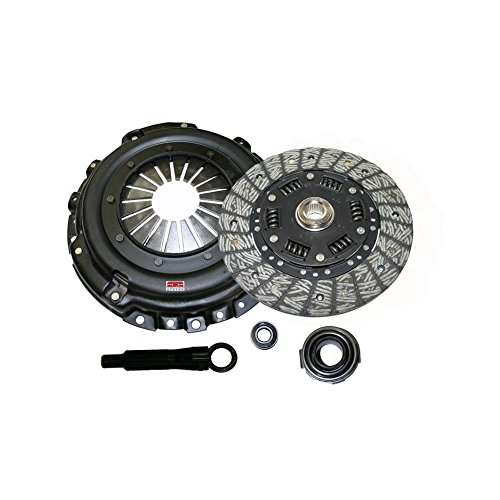 Comp Clutch Nissan 240SX / 280z 250mm White Bunny 6 Puck Disc Upgrade Kit (6055-2-g4) by Competition Clutch