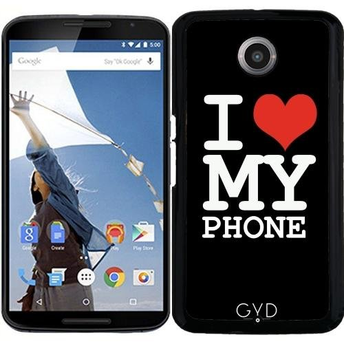 Funda para Motorola Nexus 6 - Amo A Mi Teléfono by wamdesign