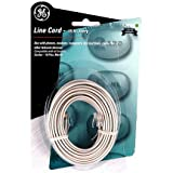 GE 76530 Line Cord (50 Feet, White), Office Central