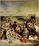 Editions Ricordi Jigsaw Puzzle 1500 pieces - Massacre at Scio, Delacroix - (cod.65970)