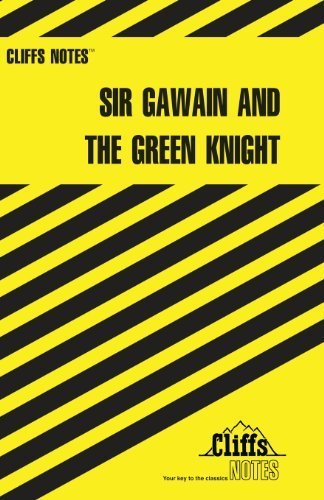 CliffsNotes Sir Gawain and the Green Knight by John N. Gardner (1967-10-20)