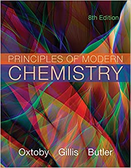 Principles of Modern Chemistry: David Oxtoby, H  Gillis