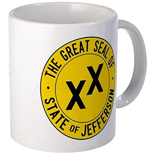 - CafePress State Of Jefferson Flag Mug Unique Coffee Mug, Coffee Cup