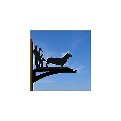Black Cat Hanging Basket Bracket Profiles