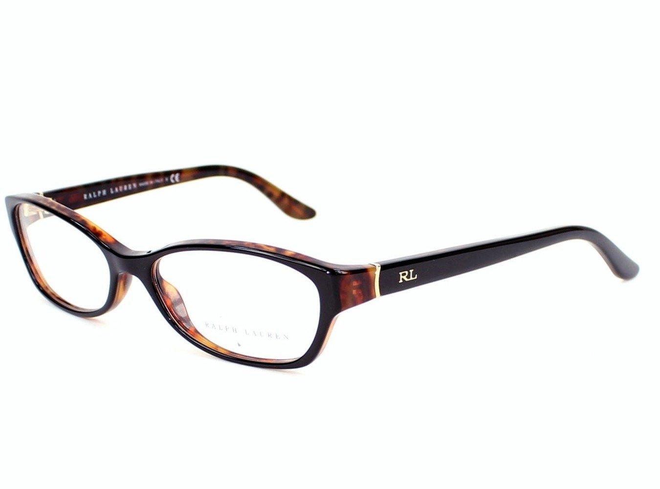Ralph Lauren RL6068 Eyeglasses-5260 Black-Havana-53mm