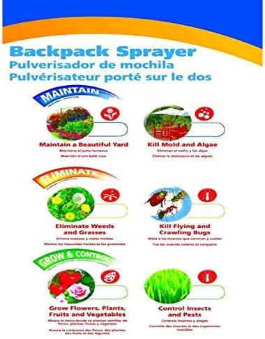 農業ツールバックパック噴霧器ホースガソリンパワーリュックガーデンスプレーナップザックミストダスター雑草キラー雑草スプレーリュック農業ツール15L